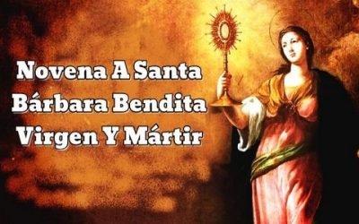 Novena A Santa Bárbara Bendita Virgen Y Mártir