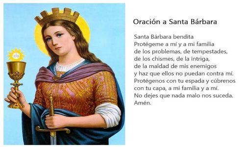 ✝ Las MEJORES ORACIONES a Santa Bárbara, Plegarias y Rezos ✝ 1
