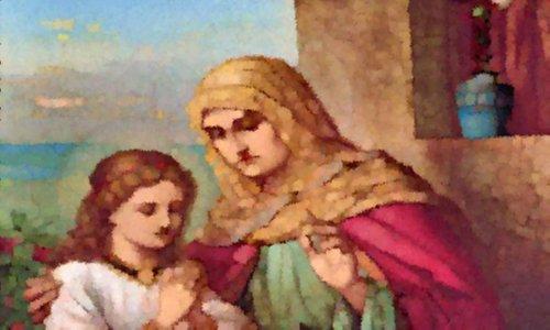 Oraciones A Santa Ana Para El Amor Y Los Hijos