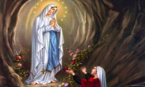 Oración y Novena a Nuestra Señora la Virgen de Lourdes